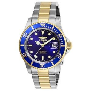 Invicta Pro Diver Gold/Stainless Automatic Watch
